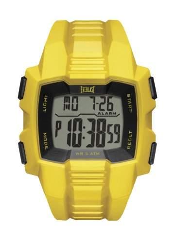 Everlast EV- 507- 002-Herren UHR-Digital-AlarmZeit von Zwischenprodukten PU-Armband, Gelb