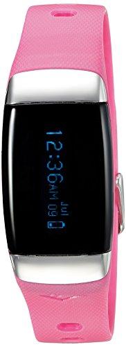 Everlast Automatische Kunststoff und Gummi Fitness Uhr Farbe Pink Modell evwtr007pk