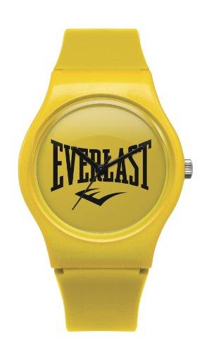 Everlast Unisex Armbanduhr 33 700 Analog Kunststoff gelb EV 700 103