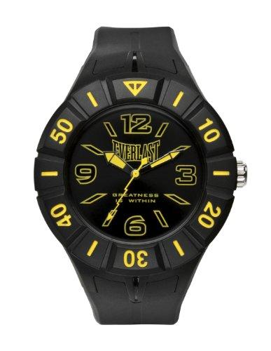 Everlast Unisex Armbanduhr 33 217 Analog Kunststoff schwarz EV 217 003