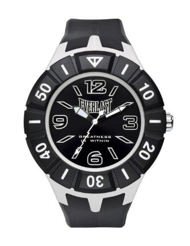 Everlast Unisex Armbanduhr 33 217 Analog Kunststoff schwarz EV 217 004