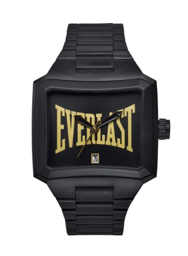 Everlast Unisex Armbanduhr 33 216 Analog Plastik Schwarz EV 216 001