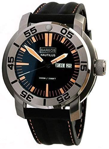 BARBOS NAUTILUS Taucheruhr 1000 Meter Diver Watch