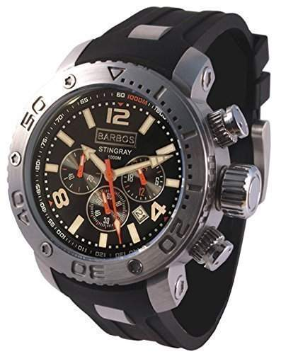 BARBOS STINGRAY Chronograph Taucheruhr 1000 Meter Diver Watch