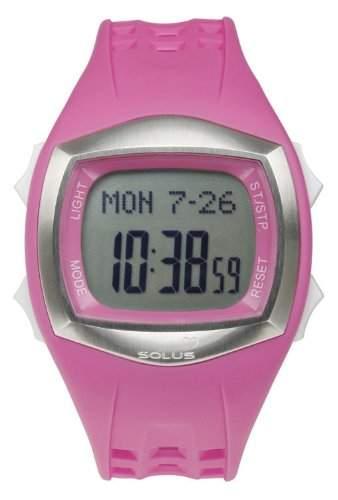 Solus Unisex-Armbanduhr Digital Automatik Kunststoff Pink SL - 100-005