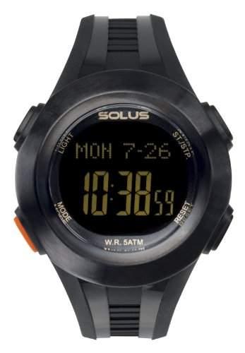 Solus Unisex-Armbanduhr Digital Automatik Kunststoff schwarz SL-101-001