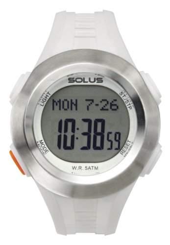 Solus Unisex-Armbanduhr Digital Quarz Kunststoff weiss SL - 101-003