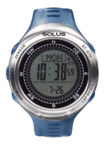 Solus Unisex-Armbanduhr Digital Automatik Kunststoff blau SL-110-003