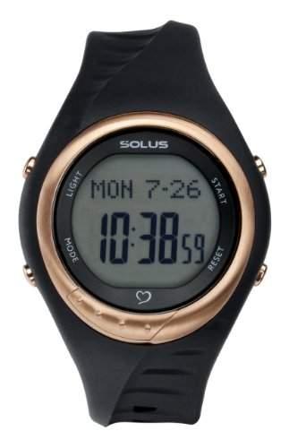 Solus Unisex-Armbanduhr Digital Automatik Kunststoff schwarz SL - 300-001