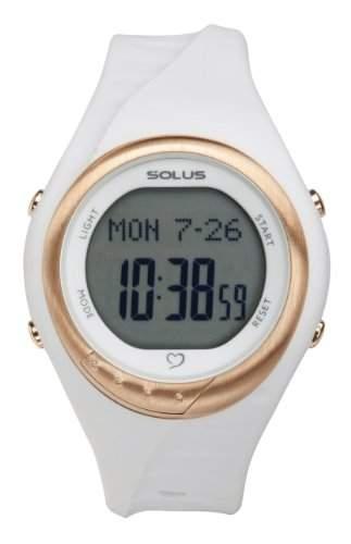 Solus Unisex-Armbanduhr Digital Quartz Kunststoff weiss SL-300-002