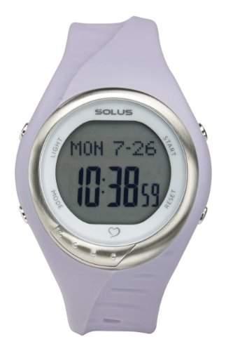 Solus Unisex-Armbanduhr Digital Automatik Kunststoff violett SL-300-005