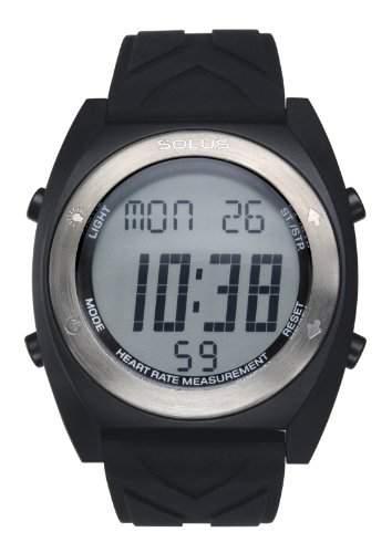 Solus Unisex-Armbanduhr Digital Silikon schwarz SL - 310-005