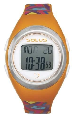 Solus Unisex-Armbanduhr illumi + Digital Automatik Kunststoff Orange SL - 800-010