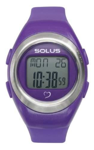 Solus Unisex-Armbanduhr Digital Automatik Kunststoff violett SL-800-203