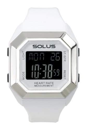 Solus Unisex-Armbanduhr Digital Quartz Kunststoff weiss SL-840-002