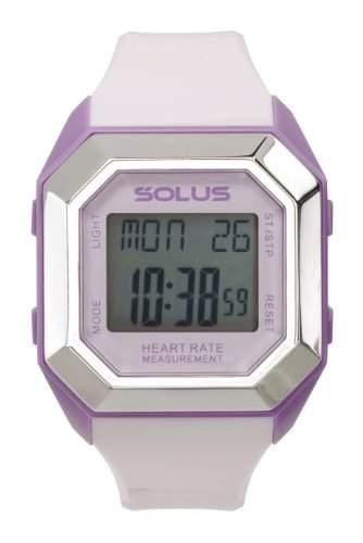 Solus Unisex-Armbanduhr Digital Automatik Kunststoff Pink SL - 840-006