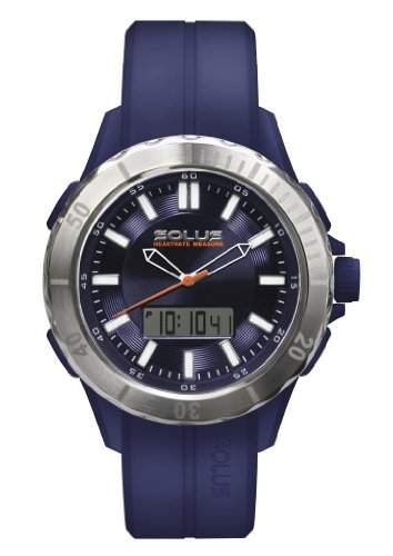 Solus MenHerren Quarzuhr mit blauem Zifferblatt Analog Digital Kunststoff blau SL - 860-003