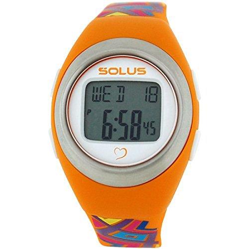 Solus unisex digitale Tagesdatum Herzfrequenz Uhr mehrf PU Armband SL 800 010