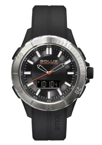 Solus Herren Armbanduhr analog digital Kunststoff Schwarz SL 860 001