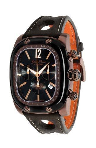 Glam Rock Unisex GR70105 Gulfstream Sammlung Chronograph Brown Leder Uhr