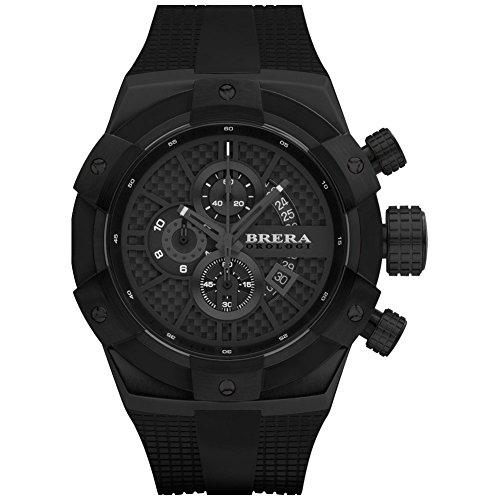 Brera Orologi Uhr Superspotivo schwarz