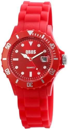 QBOS Damen-Armbanduhr Analog Quarz Silikon RP3468500005
