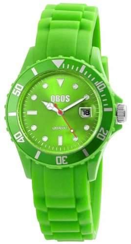 QBOS Damen-Armbanduhr Analog Quarz Silikon RP3468650005