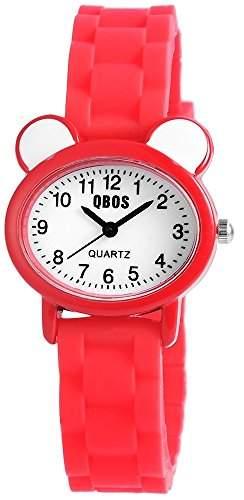 QBOS Unisex-Armbanduhr Analog Quarz Kautschuk RP4825000002