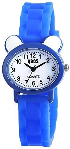 QBOS Unisex-Armbanduhr Analog Quarz Kautschuk RP4828300002