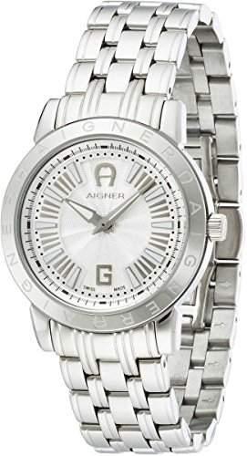 Aigner Damen Armbanduhr Cortina Ladies silber A26351