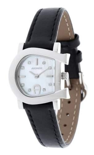 Aigner Damen Armbanduhr schwarz A31229