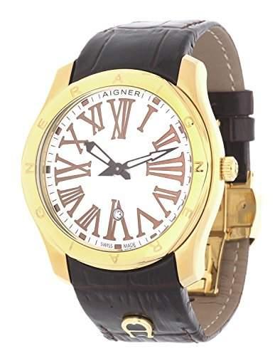 Aigner Herren Armbanduhr Lazio Gents braun A42110