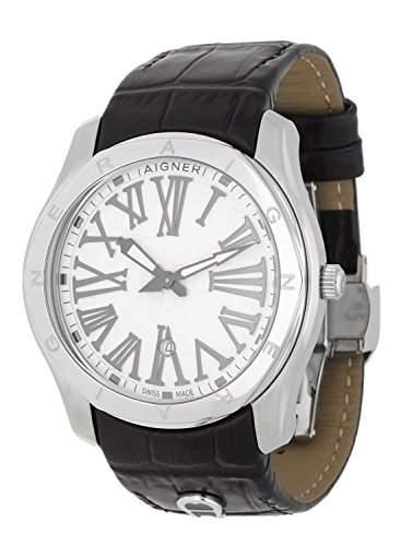 Aigner Herren Armbanduhr Lazio Gents schwarz A42111