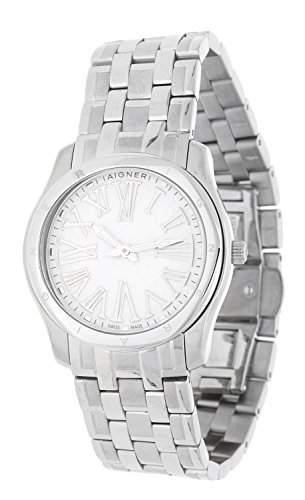 Aigner Damen Armbanduhr Lazio Ladies silber A42206