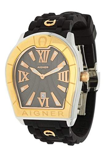 Aigner Herren Armbanduhr Verona Gents schwarz A48011