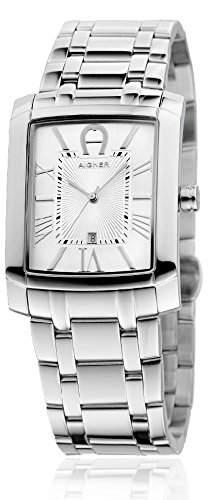 Aigner Herren Armbanduhr Silber A52105