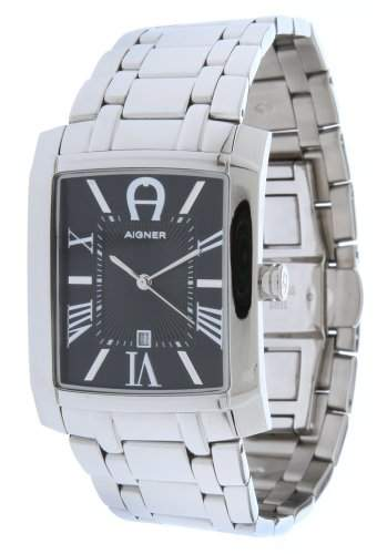 Aigner Herren Armbanduhr Silber A52110