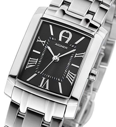 Aigner Damen Armbanduhr Silber A52210