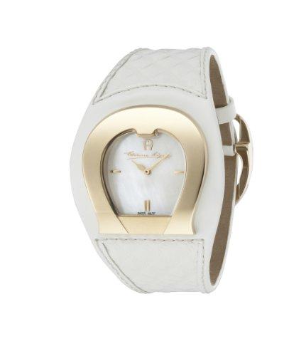 Aigner Damen Armbanduhr LAQUILA weiss A41202