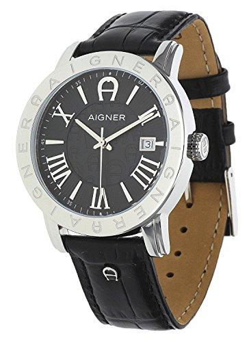 Aigner Herren Armbanduhr Linate Schwarz A32168
