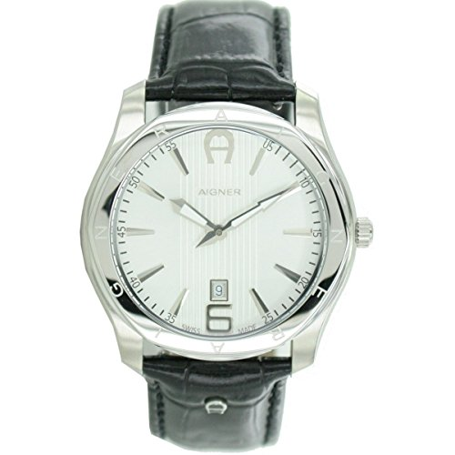 Aigner Herren Armbanduhr Lazio schwarz A32139