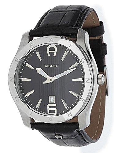 Aigner Herren Armbanduhr Lazio schwarz A32142 FC