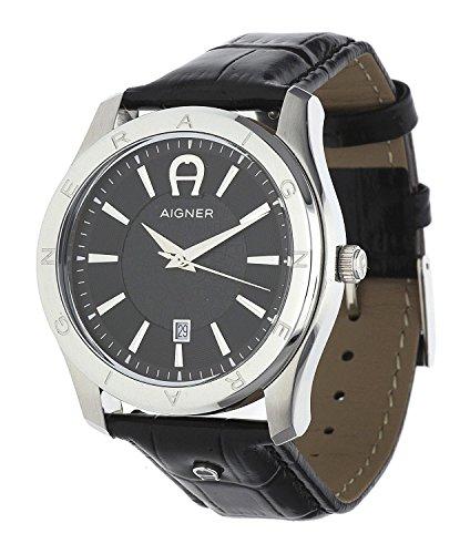 Aigner Herren Armbanduhr Lazio II Schwarz A32190