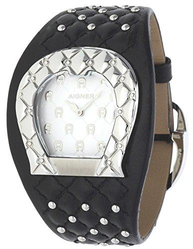 Orig AIGNER Uhr A41207 LEDER schwarz UVP 499 NEU 8455