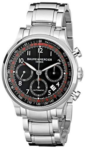 BAUME ET MERCIER CAPELAND HERREN 42MM CHRONOGRAPH AUTOMATIKWERK UHR MOA10062