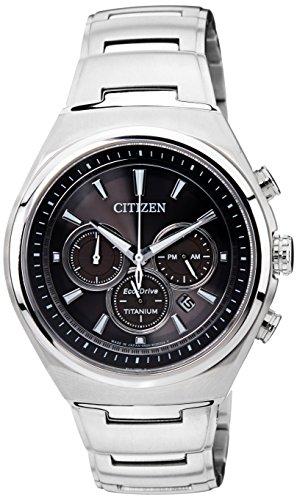 Citizen Mens ECO DRIVE Titanium Analog Business Solar 2013 Watch CA4021 51E