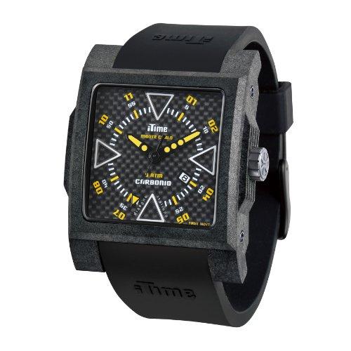 iTime Unisex Armbanduhr MC4300 C MC02 Analog silikon schwarz MC4300 C MC02