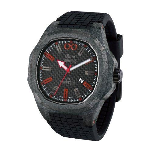 iTime Unisex Armbanduhr PH4900 C PH01R Analog silikon schwarz PH4900 C PH01R