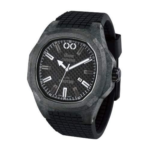 iTime Unisex Armbanduhr PH4900-C-PH01T Analog Silikon schwarz PH4900-C-PH01T