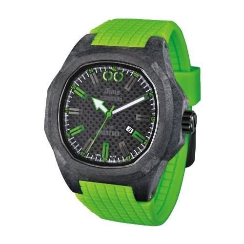 iTime Unisex Armbanduhr PH4900-C-PH02G Analog Silikon gruen PH4900-C-PH02G